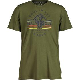 Maloja EukalyptusM. SS T-Shirt Men, moss